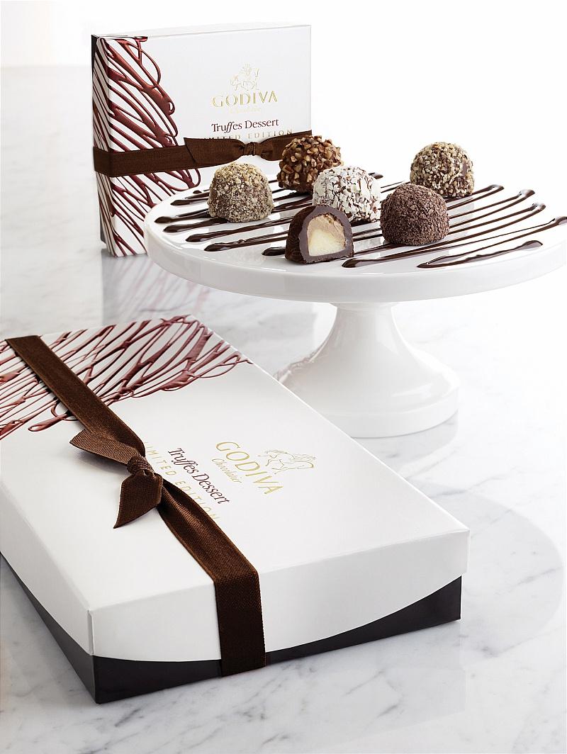 GODIVA Truffes Dessert Collection 2010 - Lipstiq.com