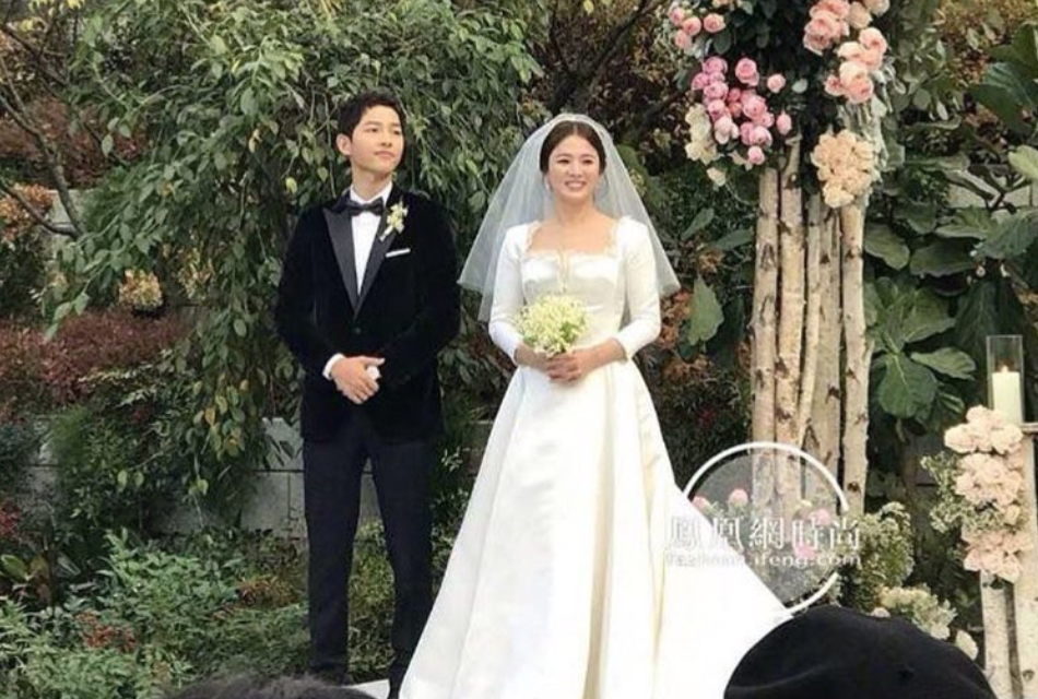 Aww, Song Joong Ki & Song Hye Kyo Tied The Knot Today In A ...