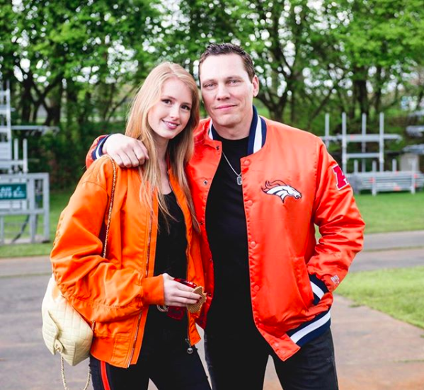 Who is tiesto dating
