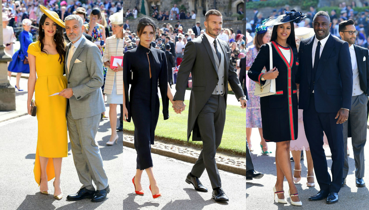 royal wedding celebrity guests at the duke duchess of sussex s big day lipstiq royal wedding celebrity guests at the