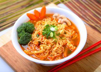 """Spicy Ramen, Korean Noodles"""