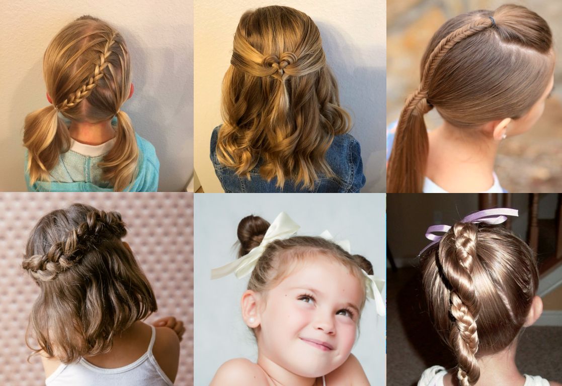 8 Cool Hairstyles For Little Girls That Won't Take Too Much Of Your Time -  Lipstiq Malaysia